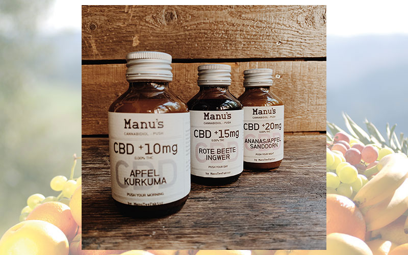 Manu's Cannabidiol PUSH: Das Take-it-easy-Feeling in flüssiger Form!