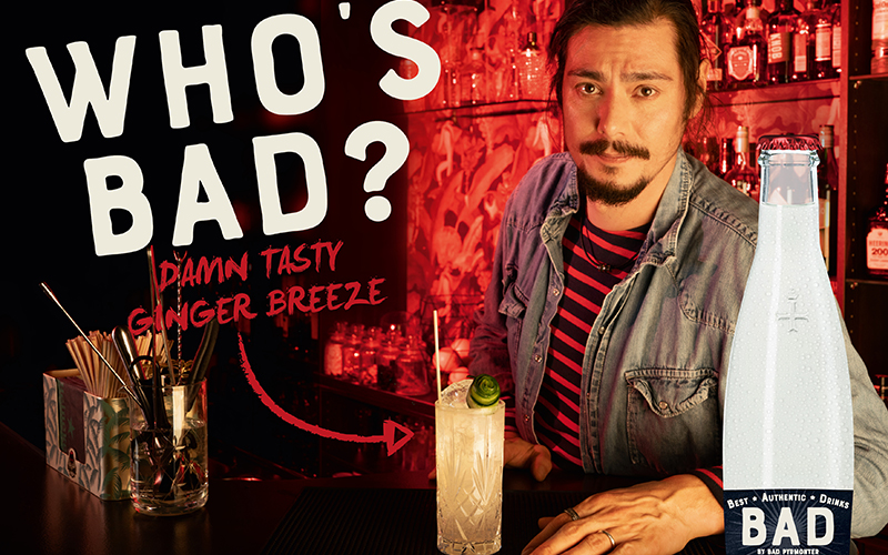 WHO´S BAD? BAD PYRMONTER launcht Best Authentic Drinks